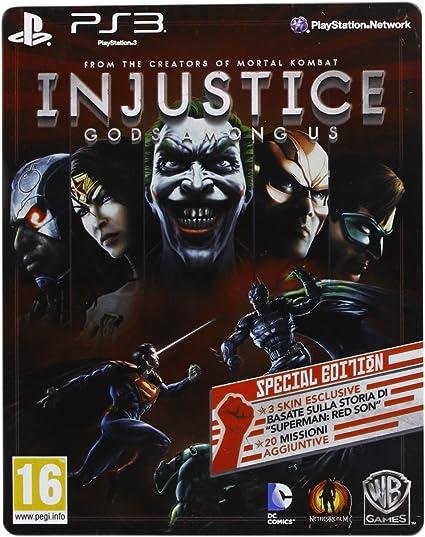 Injustice: Gods Among Us - Special Edition - Esclusiva Amazon.it ...