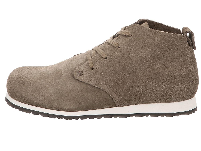 Birkenstock Dundee Plus Men Veloursleder Schuhe normal dark taupe - 44 mg6jsIzQIo