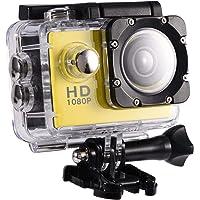 Yosoo Health Gear Cámara de acción Deportiva, videocámara DV submarina Impermeable de 30 m, videocámara HD DV de ángulo…
