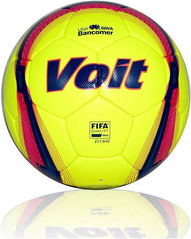 Voit FIFA - Balón de fútbol con luz de color azul claro, tamaño 5 ...