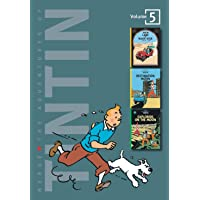 The Adventures of Tintin, Volume 5: Land of the Black Gold, Destination Moon, and Explorers on the Moon