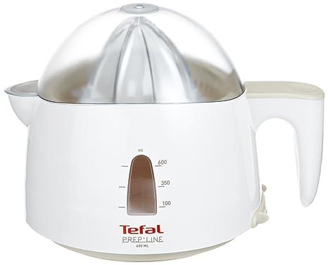 Tefal 8309.31 Exprimidor, 30 V, capacidad de 0.6 L, color gris y blanco