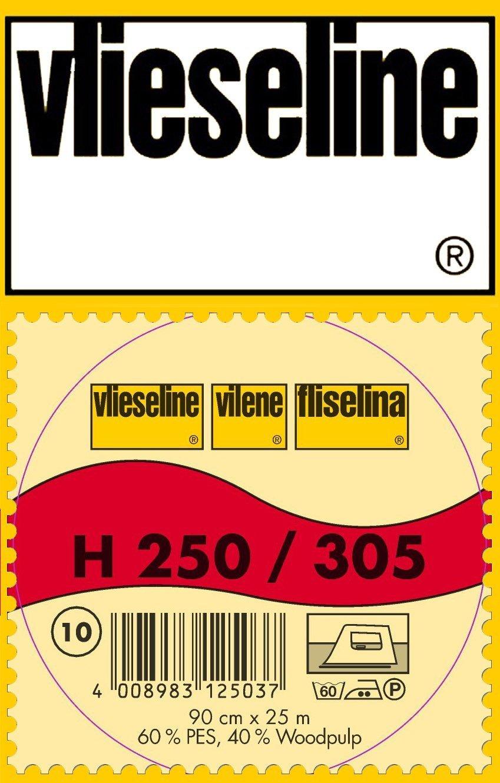 1 m stabile Einlage H250 von Freudenberg 90 cm breit