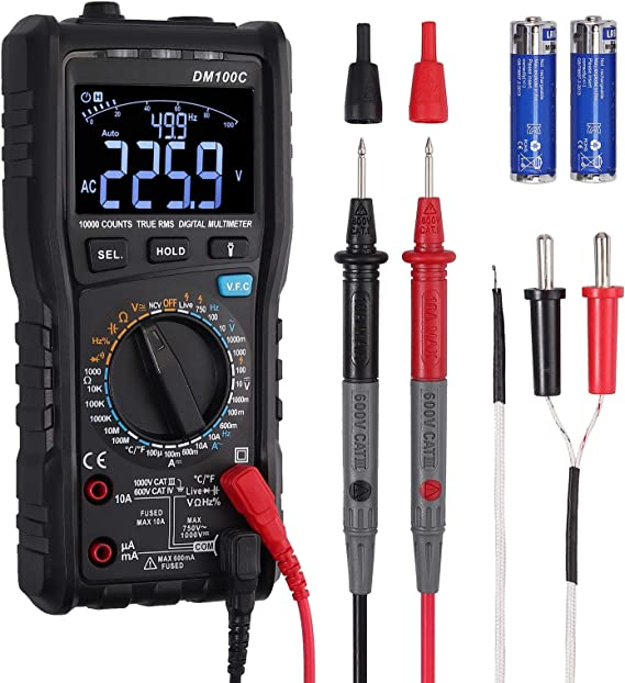 Neoteck TRMS 9999 Counts Digital Multimeter