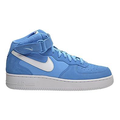 cf9f53d44df Nike Air Force 1 MID  07 Men s Shoes University Blue White White 315123