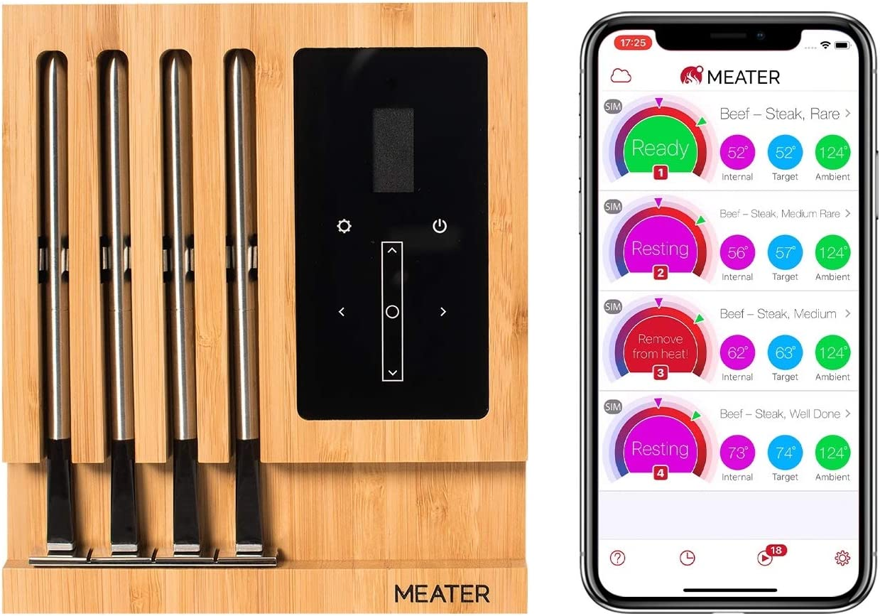 Best overall smart meat thermometer: MEATER Block Premium meat thermometer Features