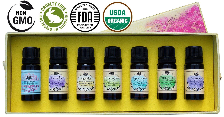 organic essential oils starter kit