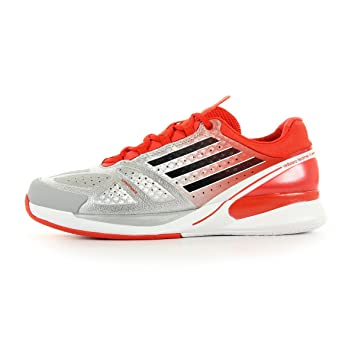 sports shoes 60bde fec23 adidas ADIZERO FEATHER II Red Men Tennis shoes