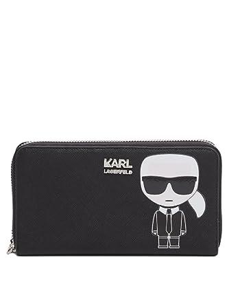 Karl Lagerfeld Damen Geldbörse Schwarz   SAILERstyle
