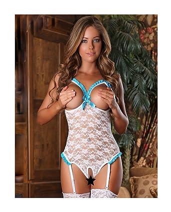 lingerie sexy ouverte poitrine