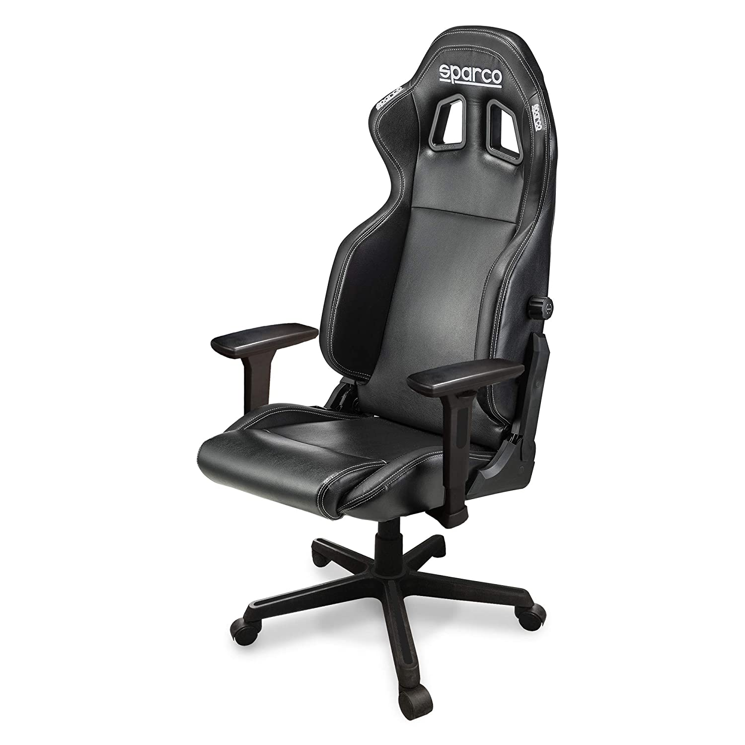 Amazon.com: ICON Gaming Chair/Office Chair Black/Black ...