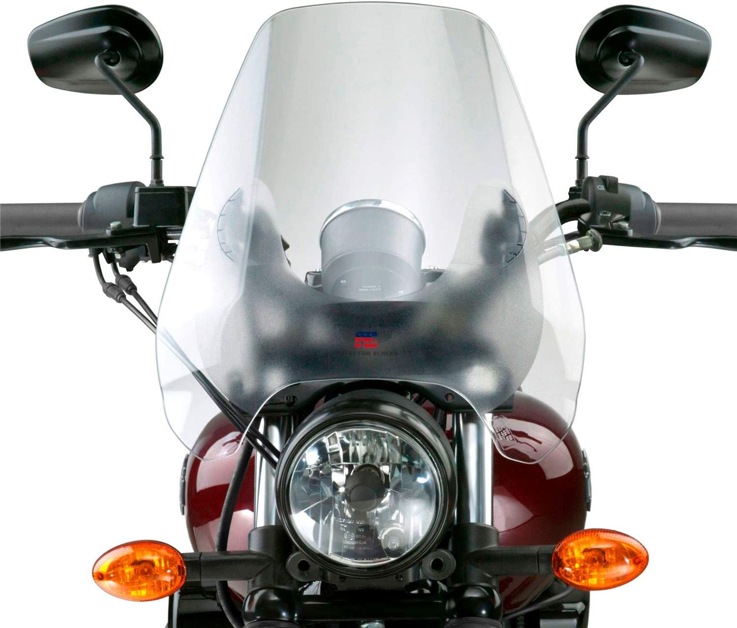 National Cycle 7//8 QuickSet Clear Deflector Screen N25040