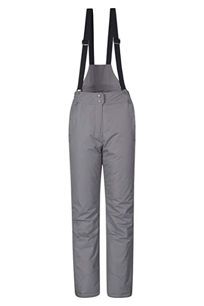 a283955d5dc Mountain Warehouse Moon Womens Ski Pants - Water Repellent Ladies Trousers