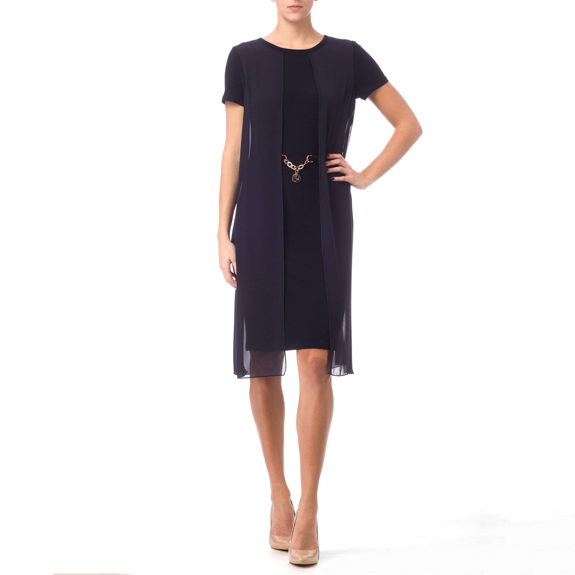 Joseph Ribkoff Dress Style 171263 Spring 2017 Collection (12, Midnight Blue)