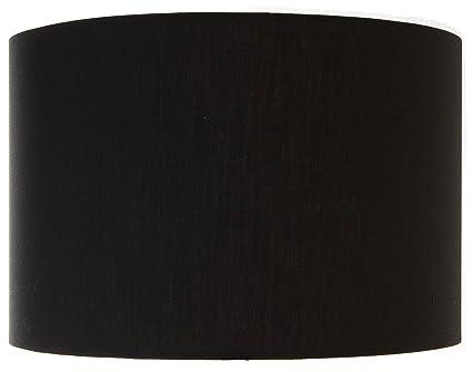 Large 45cm black drumcylinder lampshadependant amazon lighting aloadofball Images