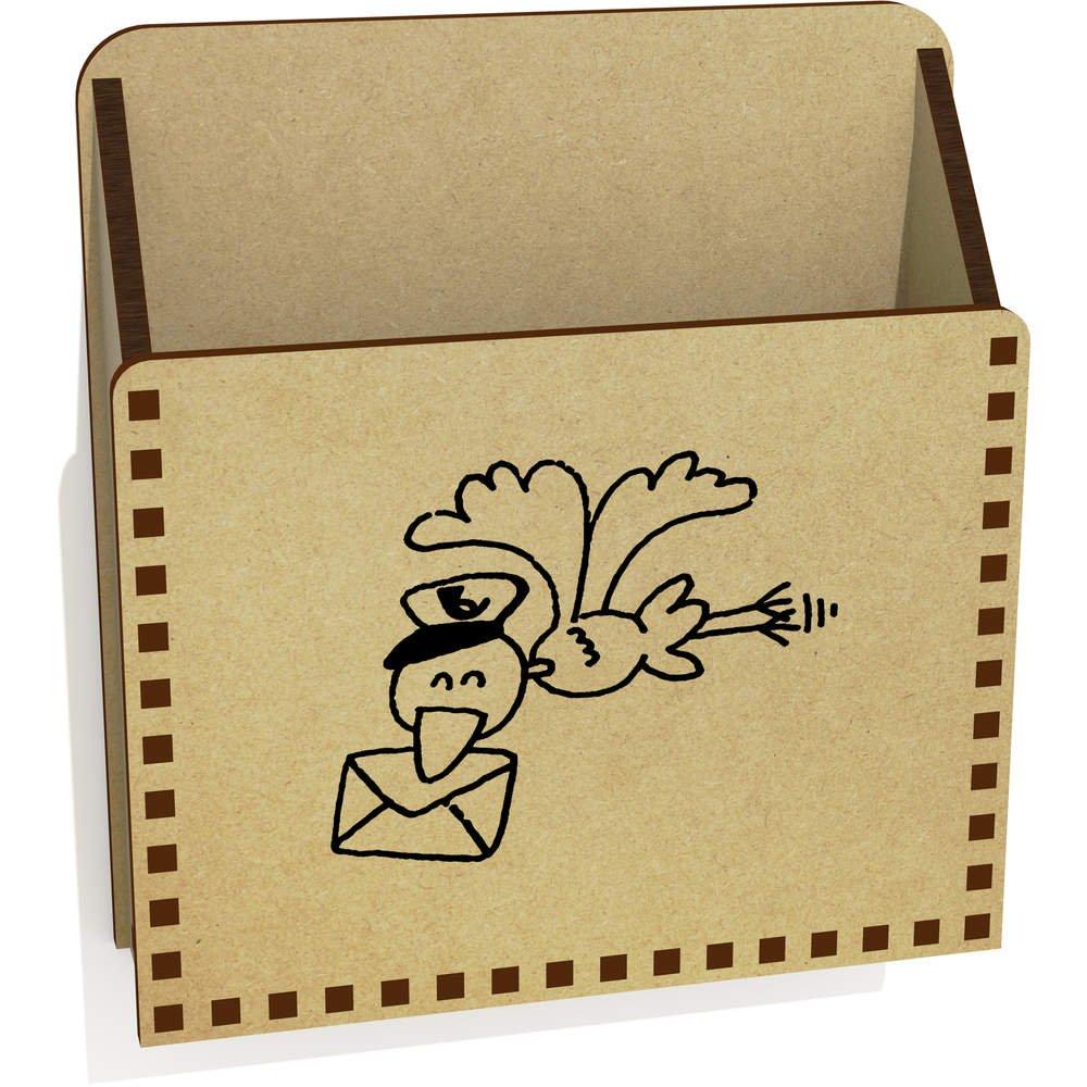 LH00015881 Caja P/ájaro de Correo De Madera Carta Poseedor
