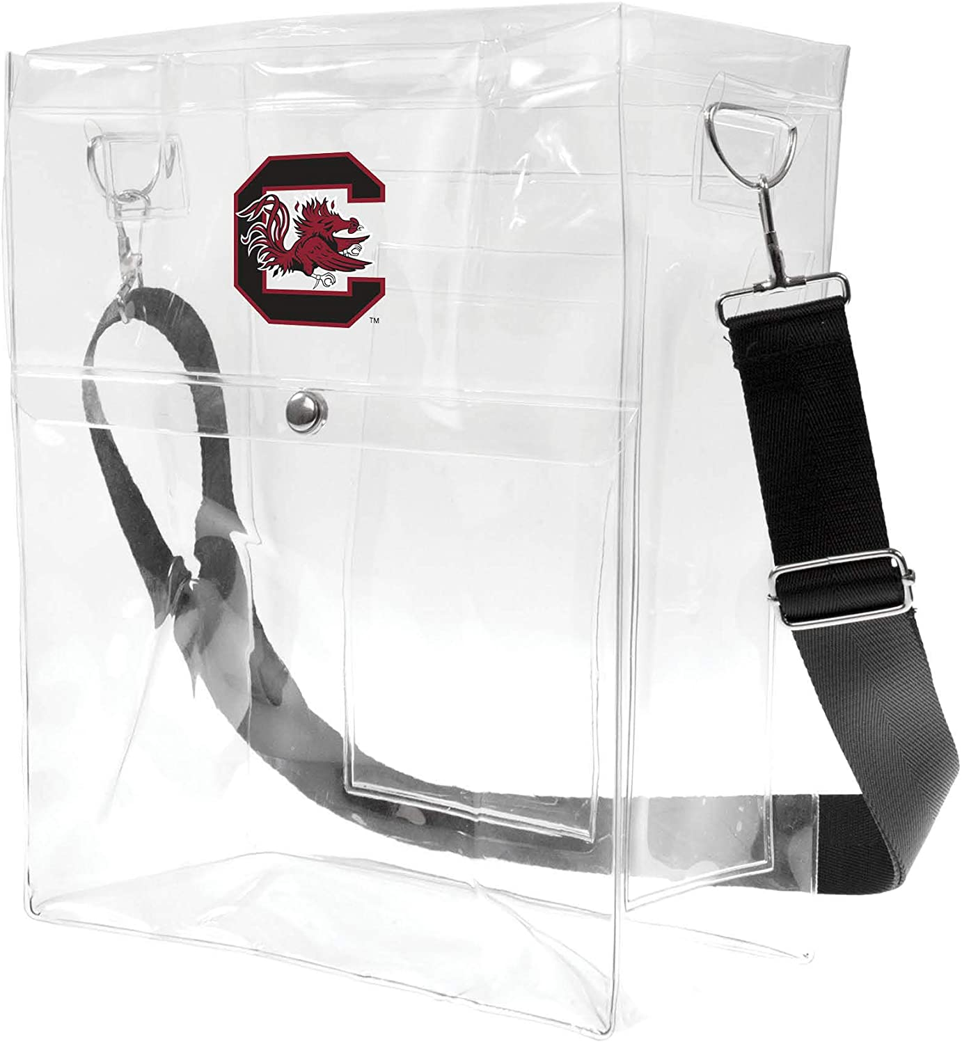 Littlearth NCAA unisex Ncaa Clear Ticket Satchel
