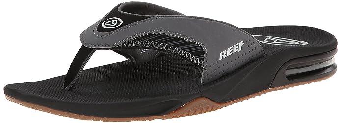 97074cd3ac55 Amazon.com  Reef Men s Fanning Prints Speed Logo Flip Flop  Shoes