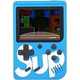 Mini Super Vídeo Game Portátil 400 Jogos Cabo Av - Azul