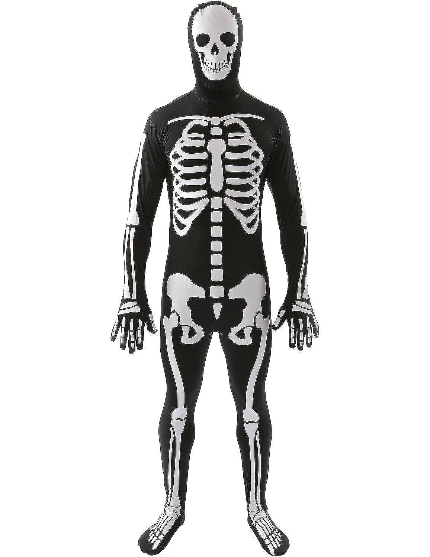 Amazon.com: Orion Costumes Unisex Skeleton Skin Suit Bones Halloween ...