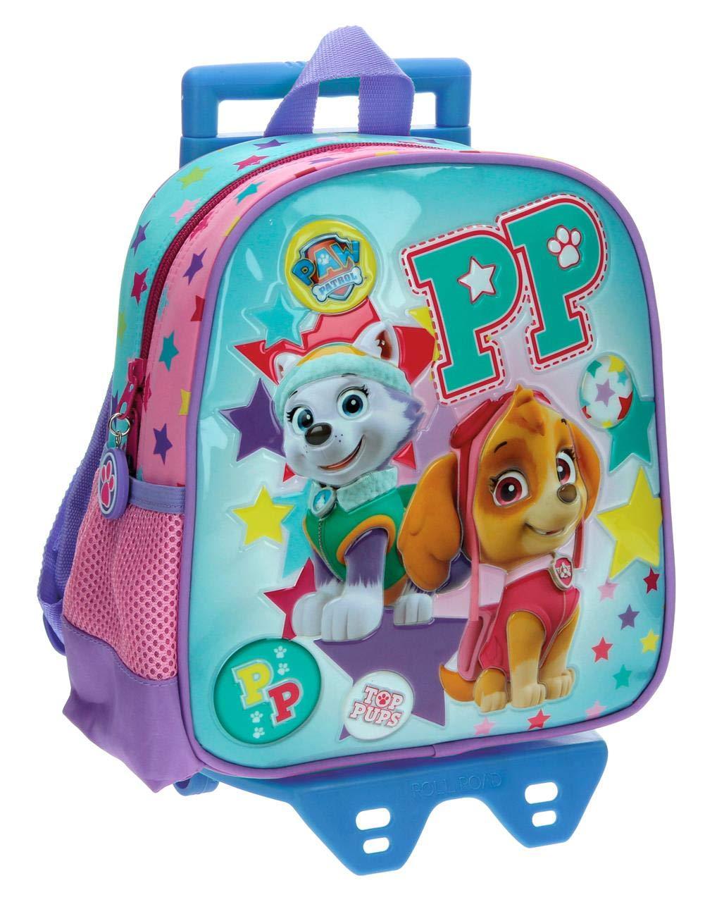 La Patrulla Canina-Sac à dos pour la crèche et la maternelle avec chariot Best Pup Ever La Pat' Patrouille 27120M1