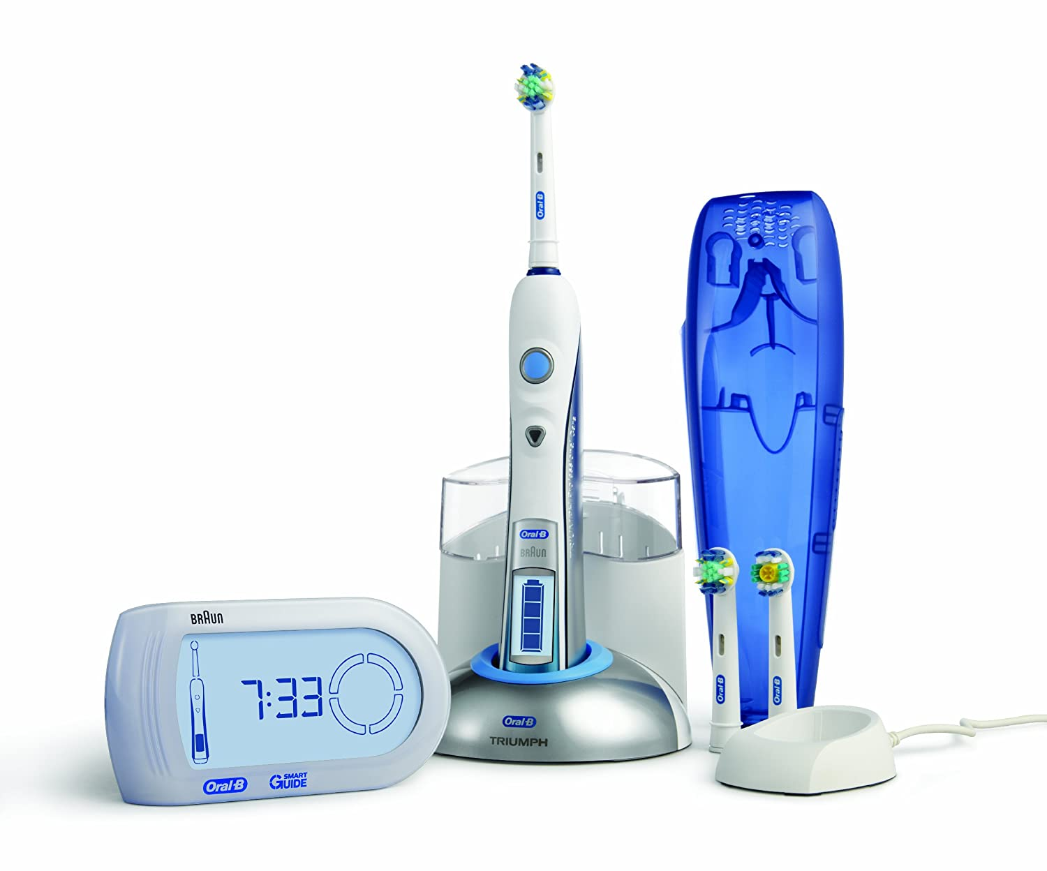 Braun Oral-B Professional Care 9900 Triumph with SmartGuide Rechargeable  Power Toothbrush  Amazon.co.uk  Health   Personal Care 3ea3c2926bca