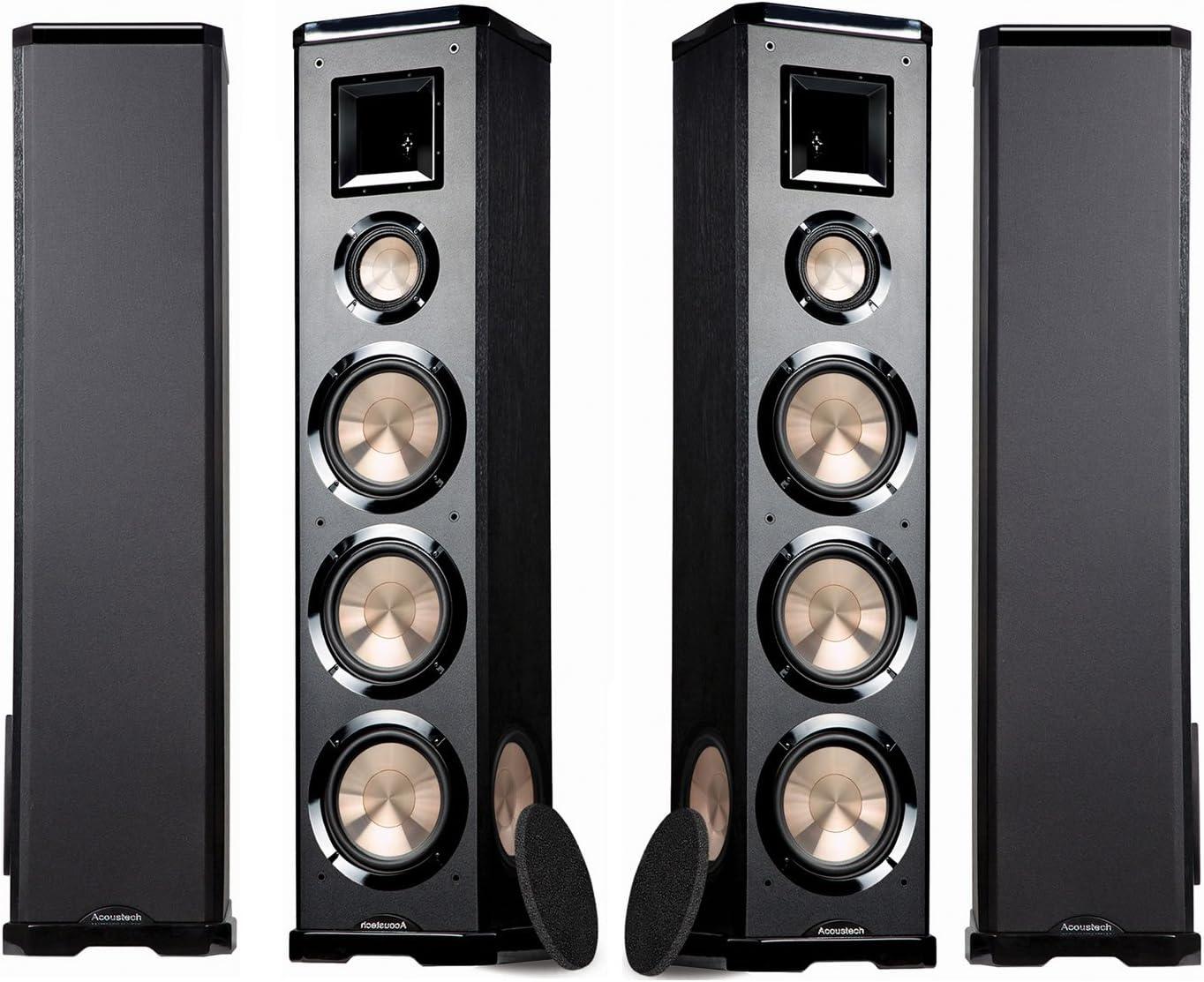BIC Acoustech PL-980L-PL-980R 3-Way Floor Speakers – ONE Pair