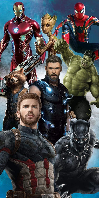 Marvel Avengers Infinity War Endgame Cotton Beach Bath Towel 70 X 140cm Amazon Co Uk Kitchen Home