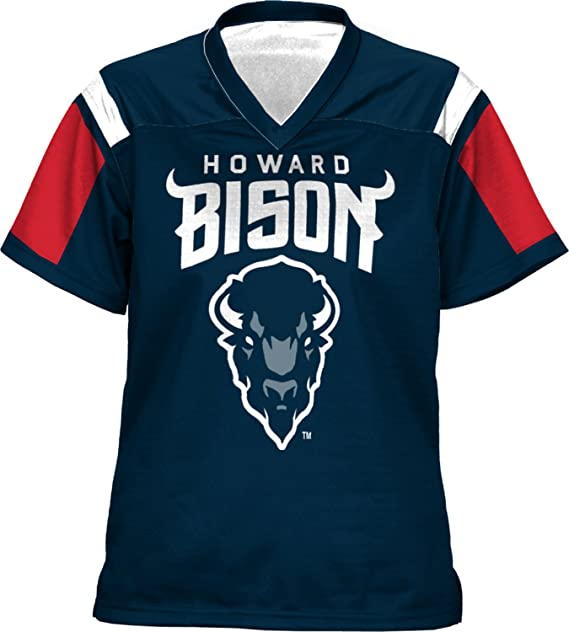 hot sale online 5b055 8524d ProSphere Howard University Girls' Football Jersey (Thunderstorm)