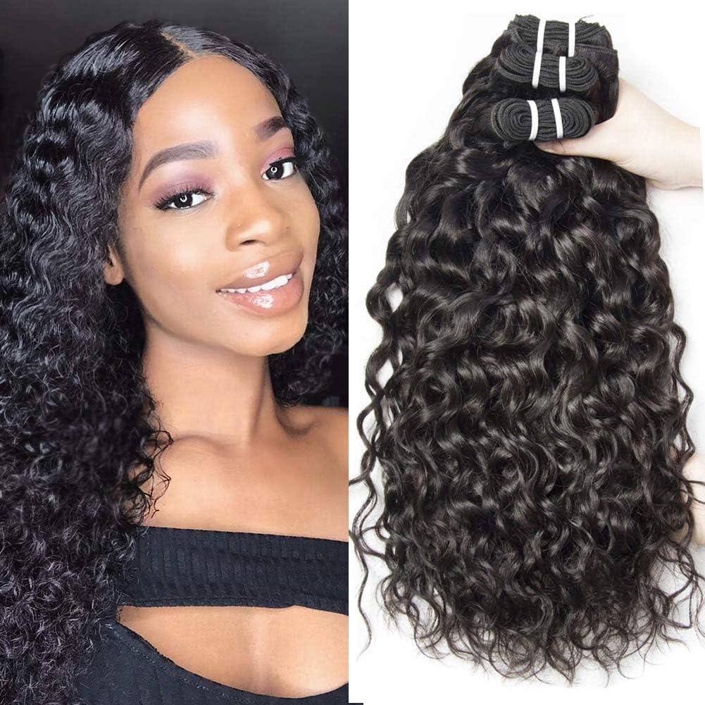 Corps Vierge Br¡§ silien Cheveux 3 Bundles Body Wave 100g Sans Traitement Naturel Couleur 100% Extensions de Cheveux Humains 10 12 14