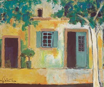 Alie Kruse Kolk.Amazon Com Piazza Ii By Alie Kruse Kolk 12 X 14 Giclee Canvas