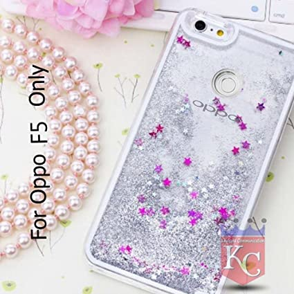official photos ae0e5 48d56 KC Liquid Flowing 3D Bling Glitter Star Transparent: Amazon.in ...