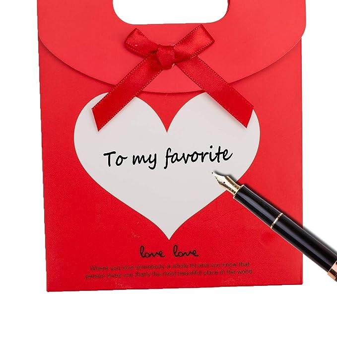 Geschenktüte Geschenktaschen mit Klettverschluss 12er Pack Neu versch Farben