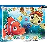 Nathan - 86106 - Puzzle Enfant avec Cadre - Némo et Squiz - 35 Pièces