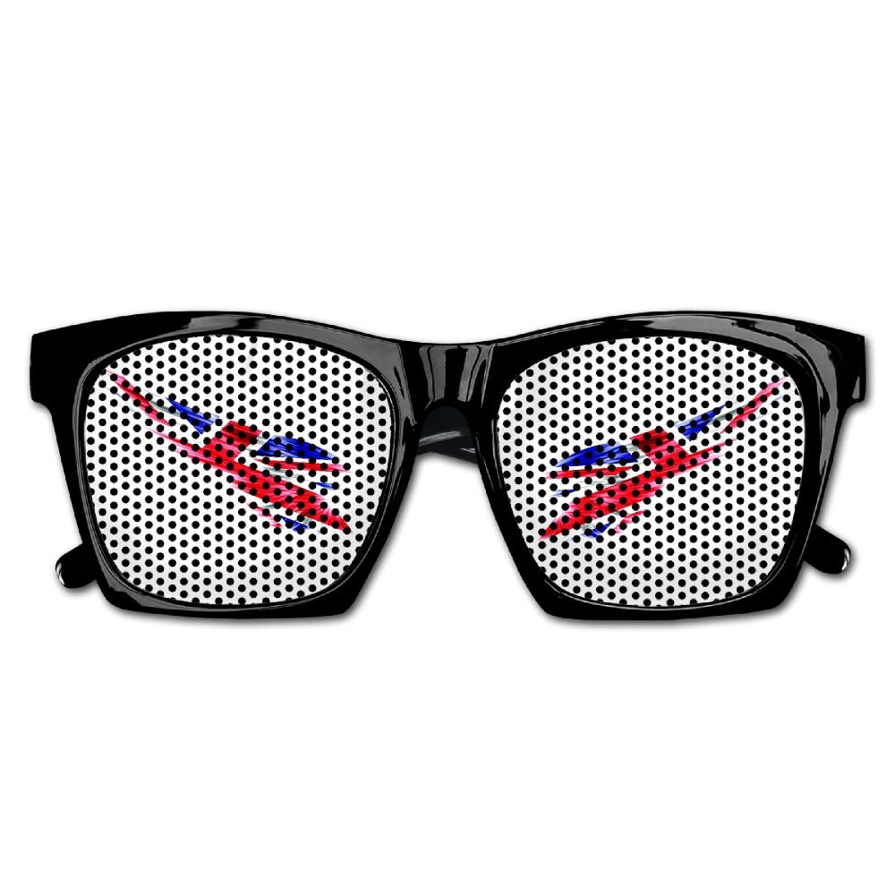 Xing Stars Colorful Summer Unisex Wing With England Flag Countries Fashion Party Costume Sunglasses