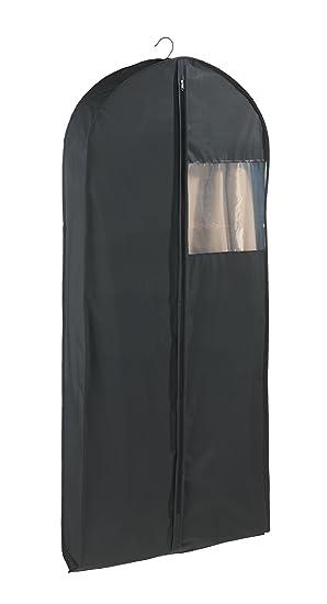 Wenko Bolsa Porta Trajes XXL, Polietileno, Negro, 12x60x135 cm
