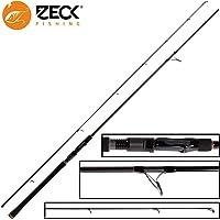 Zeck Pro Pike 2,40m 80g - Spinnrute zum Spinnangeln auf Hechte, Angelrute zum Hechtangeln, Hechtrute für Gummifische & Wobbler