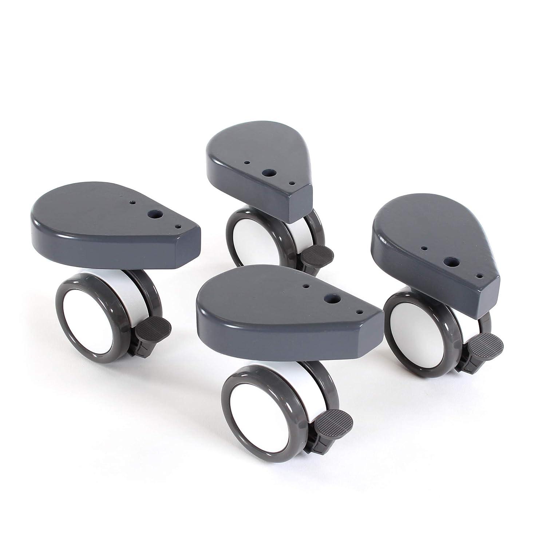 natur lackiert babybay Rollensatz Spezial mit Sto/ßschutz passend f/ür alle Modelle