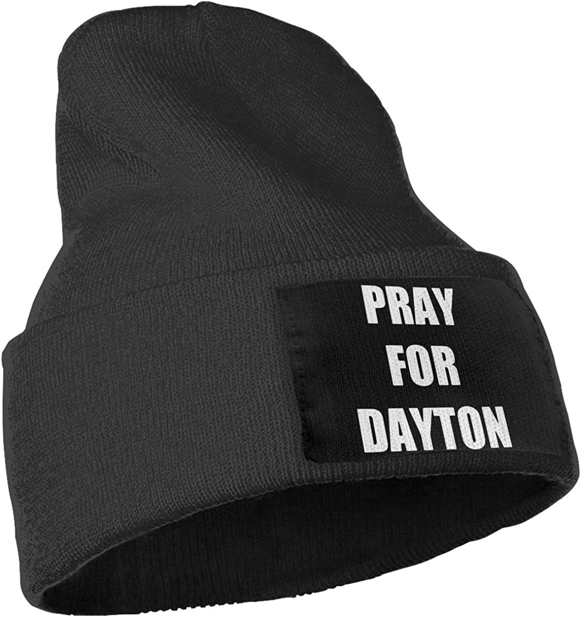 COLLJL-8 Men /& Women Pray for Dayton Outdoor Stretch Knit Beanies Hat Soft Winter Knit Caps
