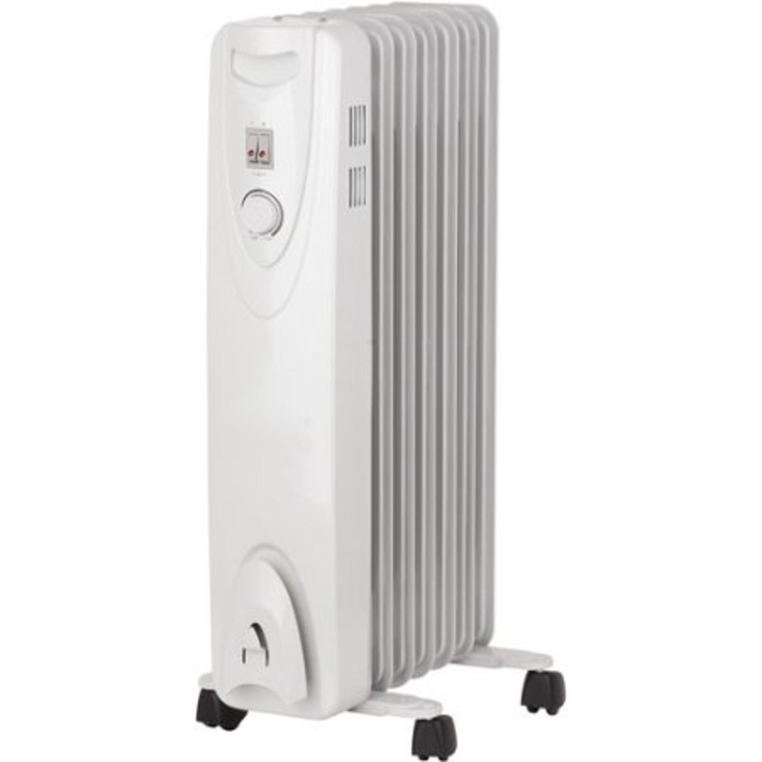 Portable Automatic Thermostat Control 3 Heat Settings Radiator Heater