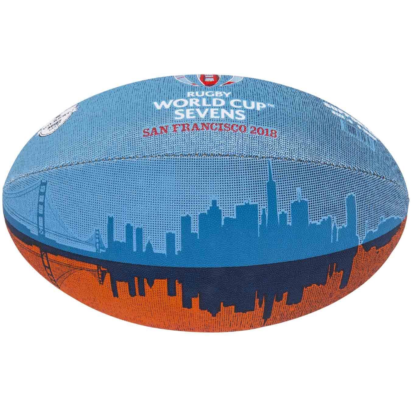 ギルバートラグビーワールドカップ7の2018 Supporterボール B07CKFRZFQ