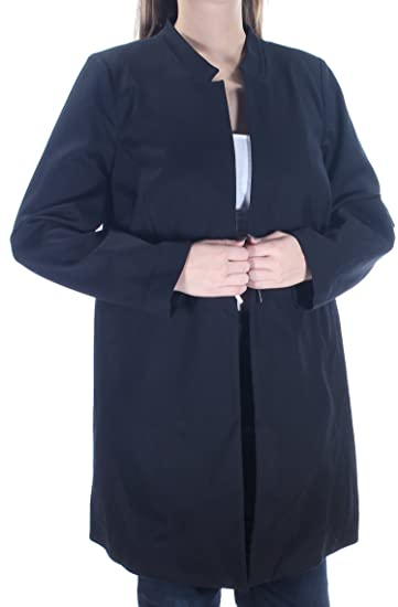 164c8306867e Alfani Womens Black Long Sleeve Open Top Plus Size: 14: Amazon.co.uk:  Clothing