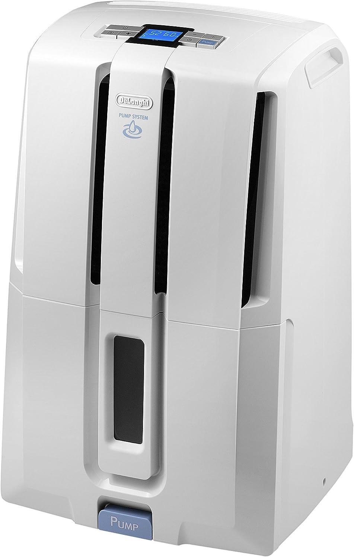 DeLonghi DD30P Deshumidificador, 540 W, Acero Inoxidable/plástico ...