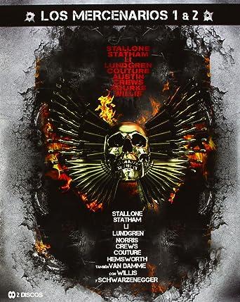 Pack Los Mercenarios 1 + 2 (Bd) [Blu-ray]: Amazon.es: Sylvester Stallone, Bruce Willis, Simon West, Sylvester Stallone, Bruce Willis, Avi Lerner: Cine y Series TV