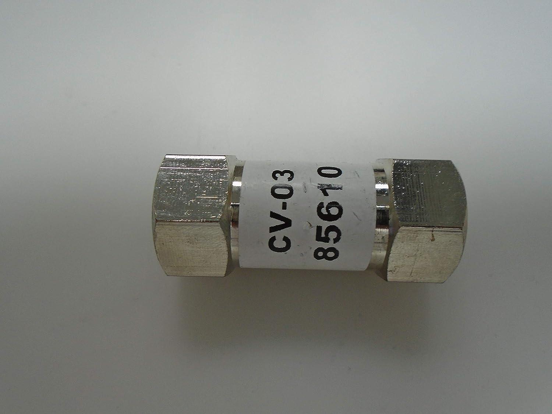 3//8 Pneumatic Check Valve CV-03 85610 SNC