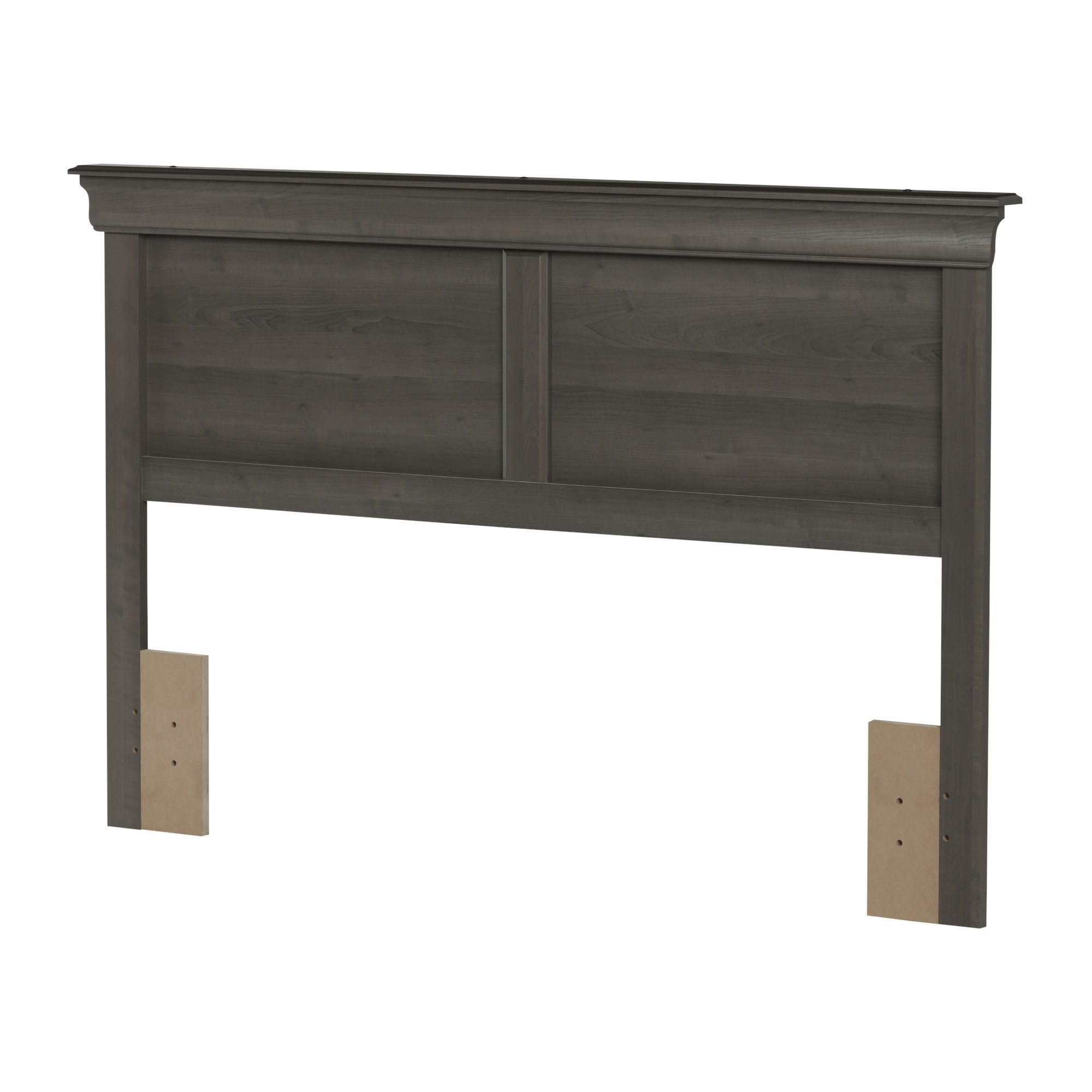 South Shore Vintage Full Queen Headboard in Gray Maple by South Shore
