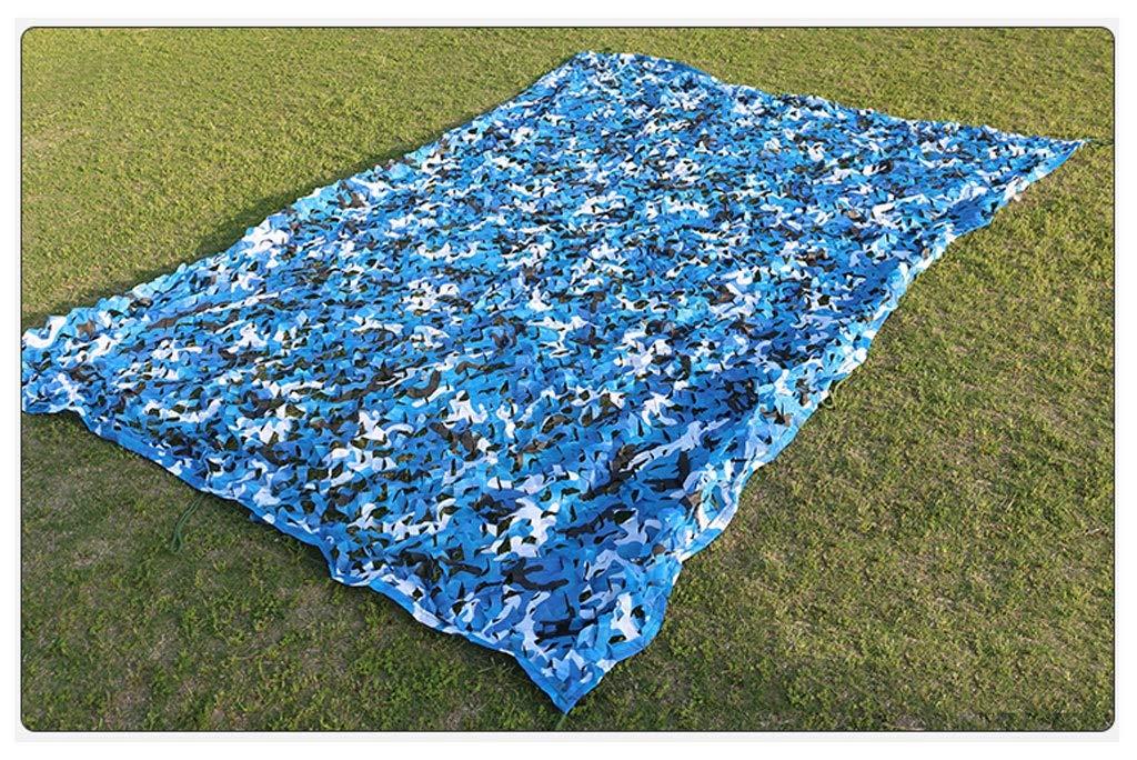 410M ZhHOME Camouflage Net, Oxford Cloth est Dense et Robuste, Convient pour Le Camping en Plein air (Taille   6  8M)