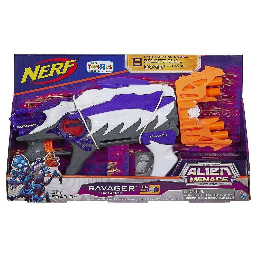 NERF Alien Menace Ravager Blaster [並行輸入品] B06XW2ZGKP