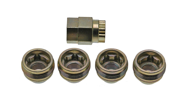 Amazon.com: 24012SU Wheel Lock Nuts SU Under hub Cap M12 x 1,5, Cone seat, Overall Length 19,7 mm, Hex Size 19/21mm: Automotive