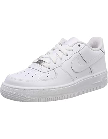 Nike Air Force 1 (GS), Zapatillas de Baloncesto Unisex bebé